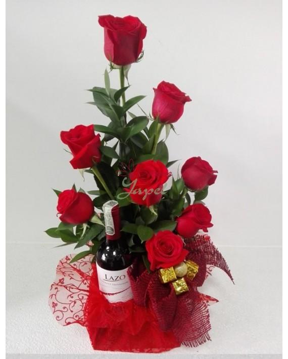 Obsequia Un Hermoso Arreglo Floral En Navidad Flores Yapel